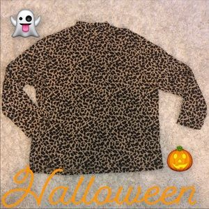 🎃Halloween Cheetah print turtleneck🎃